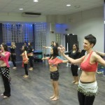 Teaching Dancebuzz Students