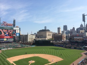 Detroit Tigers Stadium 2015